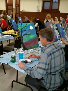 Painting Party 4-29-16 #2