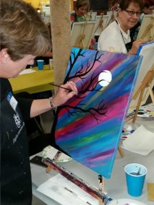 Painting Party 4-29-16 #4