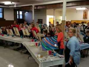 Painting Party 4-29-16 #6